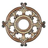 Livex Lighting 8218-57 Ceiling Medallion, Venetian Patina