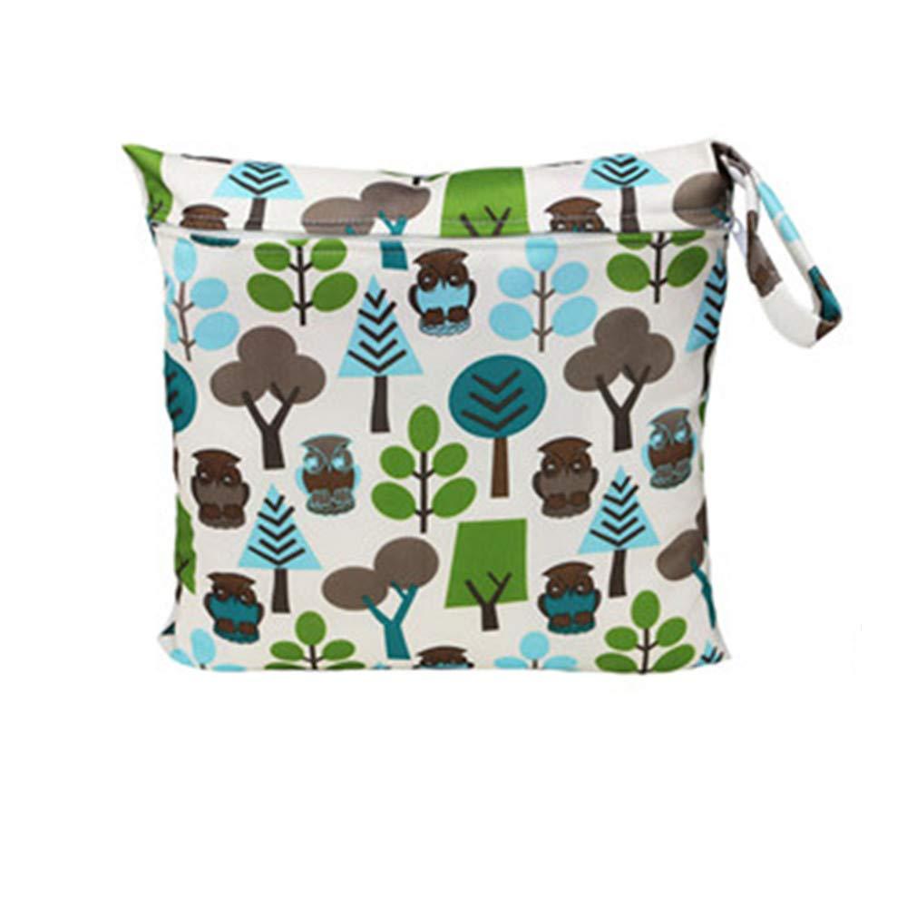 Yangyme Stoffwindel W/äschesack Baby Tuch Windeln Baby Windel Tasche Gym Bag Waschbar Wasserdicht f/ür Strand Pool gr/ün