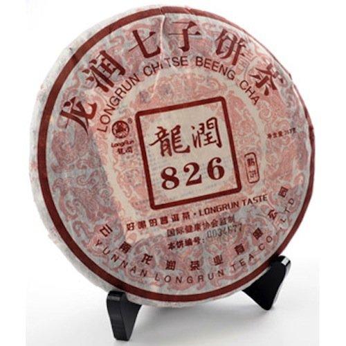Yunnan Longrun Pu-erh Tea Cake-826 (Year 2006,Fermented, 357g)