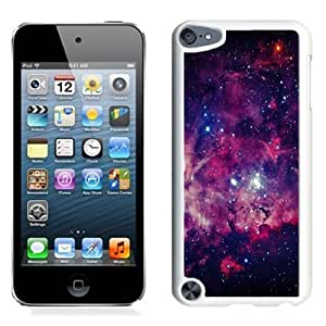 NEW Unique Custom Designed iPod Touch 5 Phone Case With Space Stars Galaxy_White Phone Case