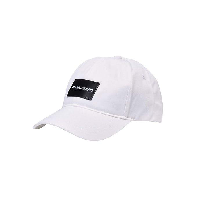 Calvin Klein - Gorra K50K504562 107 - Blanco, U: Amazon.es: Ropa y accesorios
