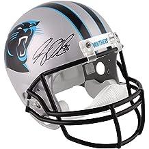 Greg Olsen Carolina Panthers Autographed Riddell Replica Helmet - Fanatics Authentic Certified - Autographed NFL Helmets
