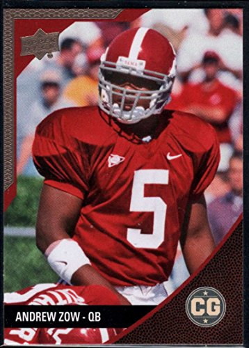 Football NFL 2014 Upper Deck Conference Greats Pewter Foil #3 Andrew Zow (Football Pewter Nfl)