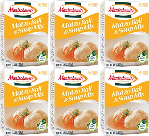 Matzo Ball and Soup Mix, 4.5oz Box (Pack of 6, Total of 27 Oz) ()