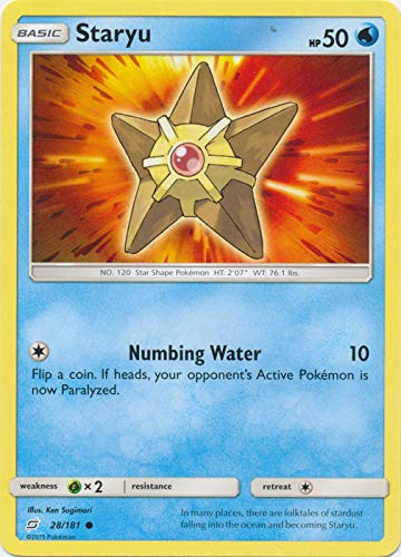 Staryu - 28/181 - Common - Team Up