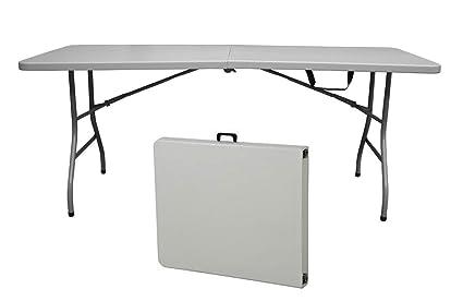 Snap Drape Table In A Snap   6 Foot 400 Lb Capacity Center Folding Table W