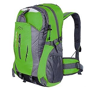 a36d99581c6cb Hwjianfeng Damen Herren Trekkingrucksack Wanderrucksack Reisenrucksack  Camping Backpack Daypack Rucksack Outdoor Sportrucksack 30L Test- ein  schöner ...