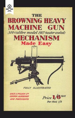 The Browning Heavy Machine Gun: 300 calibre model 1917 (water cooled) Mechanism Made (Water Cooled Machine Gun)