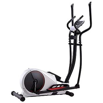 vidaXL Bicicleta Elíptica Casa Magnética Pulsómetro Pantalla LCD 8 ...