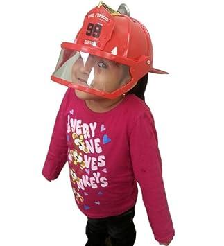 child size firefighter helmet with visor toy firefighter helmet