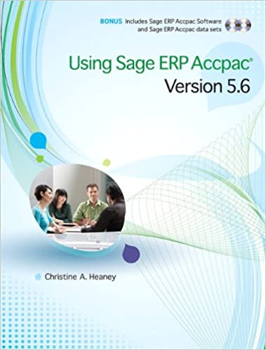 Amazon using sage erp accpac version 56 9780321733962 using sage erp accpac version 56 1st edition fandeluxe Choice Image