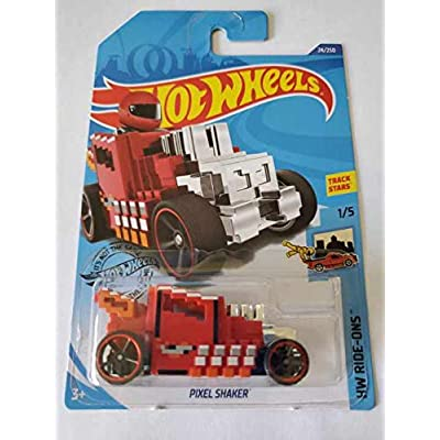 Hot Wheels 2020 Hw Ride-Ons Pixel Shaker, 24/250 Red: Toys & Games