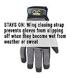 CLC 125L Handyman Flex Grip Work Gloves, Shrink Resistant, Improved Dexterity, Tough, Stretchable, Excellent Grip