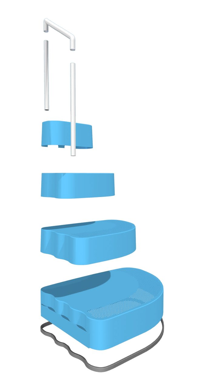 Wedding Cake Step For Above Ground Swimming Pools - - Amazon.com