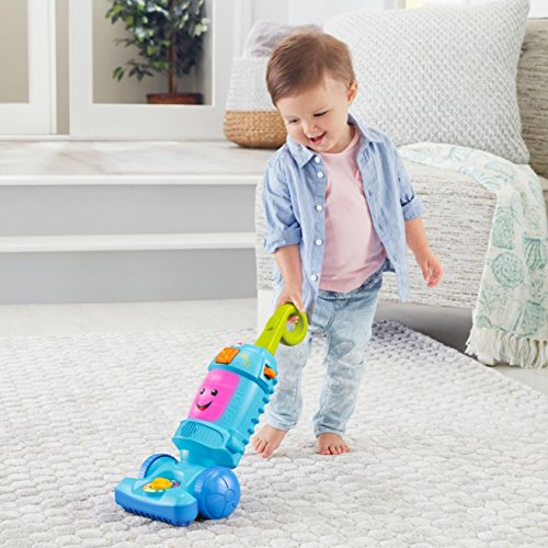 51bbbbW tdL - Fisher-Price Laugh & Learn Light-up Learning Vacuum