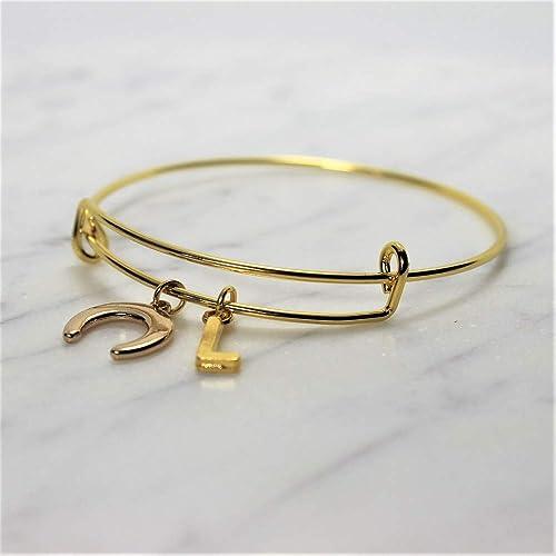e4fe773b1f3 Bracelet CROISSANT DE LUNE personnalisé