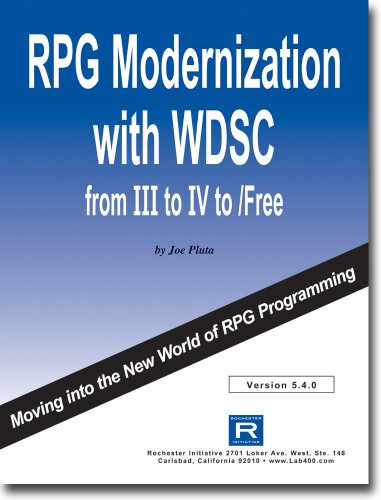 RPG Modernization with WDSC by Rochester Initiative
