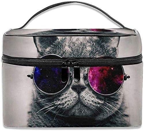 Cool Cat Professhional Estuche Grande para Maquillaje Estuche para Maquillaje Estuche para Tren de Viaje: Amazon.es: Equipaje