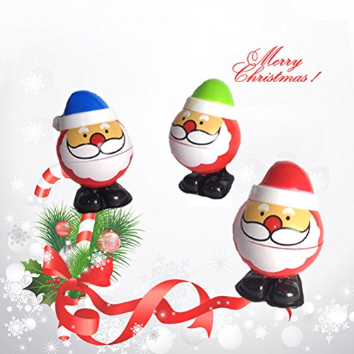 Wind Up Toys TOYMYTOY Santa Claus Walking Toys Christmas Party Favors for Kids Pack of 4 by TOYMYTOY (Image #2)