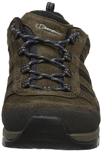 Berghaus Expeditor Active AQ Tech Shoes, Scarpe da Arrampicata Uomo Multicolore (Brown/Black)