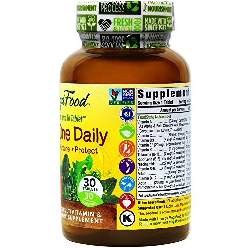 MegaFood - Kid's One Daily, Supports Healthy Growth & Development, 30 Tablets