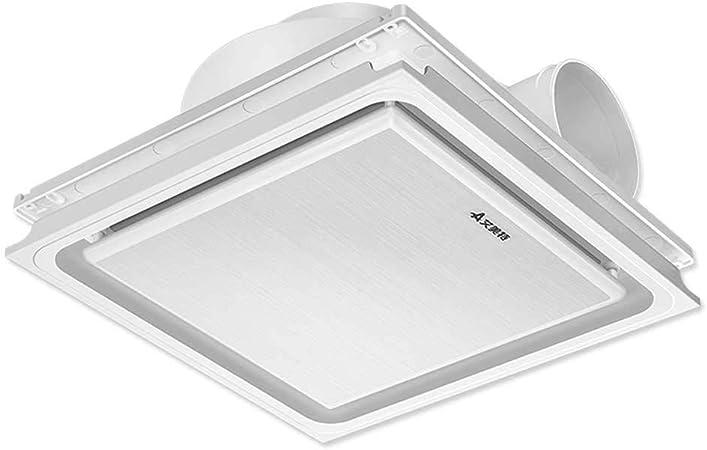 Ventilador de ventilación, baño, Cocina, Techo, Tipo Potente, silencioso Extractor de Aire, máquina: Amazon.es: Hogar
