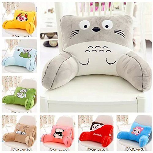 Cute-Cartoon-Animal-Soft-Plush-Car-Seat-Waist-Rest-Cushion-Lumbar-Support-Waist-Pillow