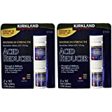 Kirkland Signature Maximum Strength Acid reducer Ranitidine tablets USP 150MG 95 Tablets 4-Count 380 Total tablets.