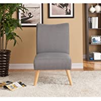 Mainstays Slipper Chair (1, Grey)