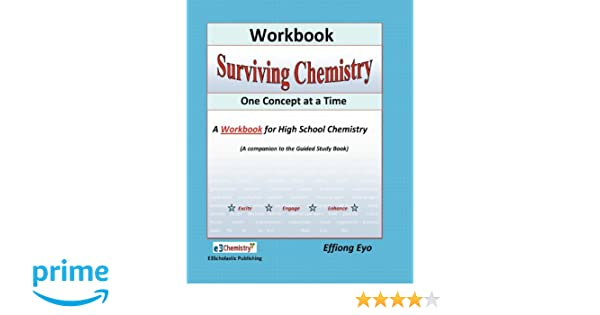 Counting Number worksheets fun chemistry worksheets : Amazon.com: Surviving Chemistry One Concept at a Time: Workbook: A ...