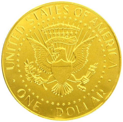 Fort Knox Us Dollar Medallions Chocolates.81 Ounce (Pack of 30)
