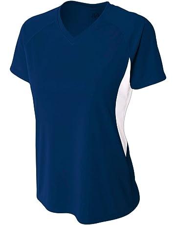 bb1505fef1a7 ... USA Women s National Team Away Soccer Jersey. Women s Athletic Moisture  Wicking V-Neck Dual-Color Performance Shirt Uniform (All
