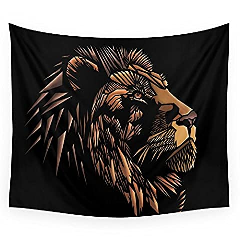 Society6 Lion Abstract Illustration Wall Tapestry Small: 51