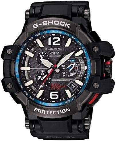 Casio G-Shock Gravity Master Hybrid GPS Black Blue GPW-1000-1A