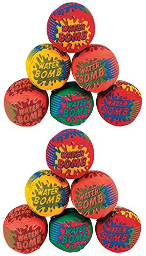 Splash Balls - Water Bombs For The Pool - Pack Of 12