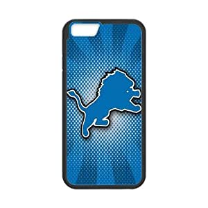 Artswow iPhone 6 4.7 Inch Plastic TPU Cover Custom Detroit Lions NFL Cell Phone Case