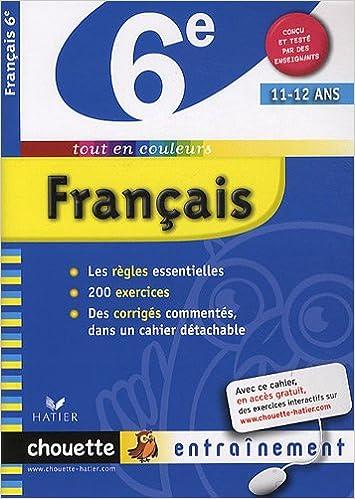 Livre gratuits Français 6e pdf, epub