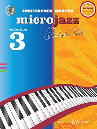 The Microjazz Collection 3 (repackage) - Graded piano pieces and exercises in popular styles - Microjazz - piano - edition with CD - ( BH 12253 )