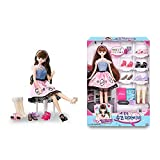 (US) Mimi World 17-Year-Old Mimi Wanne Be A Shoes Designer Fashionistas Barbie Doll Doll Accessories Clothing and Shoes