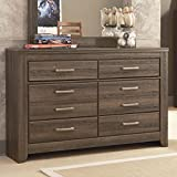Ashley Furniture Signature Design - Juararo Dresser - 6 Drawers - Casual Styling for Kids Room - Dark Brown
