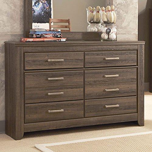 Ashley Furniture Signature Design - Juararo Dresser - 6 Drawers - Casual Styling for Kids Room - Dark Brown by Signature Design by Ashley