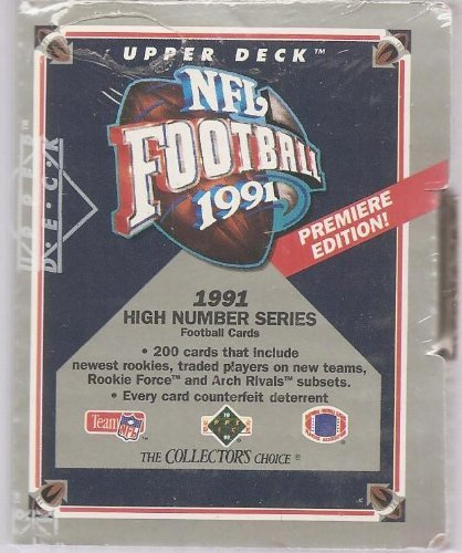 1991 Upper Deck NFL Football High Number Series (Upper Deck Nfl Box)