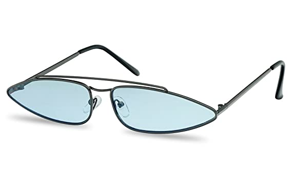Amazon.com: SunglassUP – Gafas de sol ovaladas largas y ...