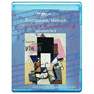 Shostakovich/Malevich - Symphony No.9 Art and Music Expressions Series [7.1 DTS-HD Master Audio/ Video Disc] [BD25] [Blu-ray]
