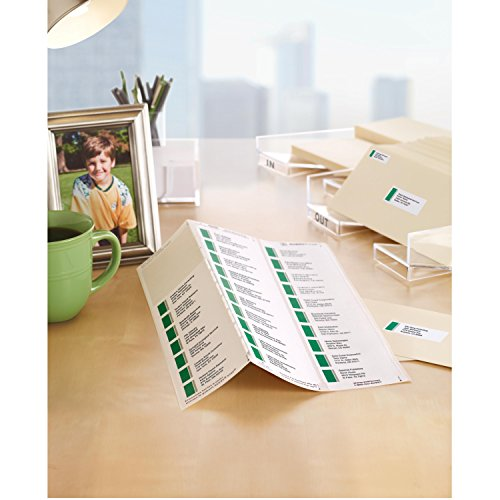 "Easy Peel Address Rectangle Labels for Laser Printers, 1"" x 2-5/8"", Box of 3,450 Labels (5160 Template) Photo #2"