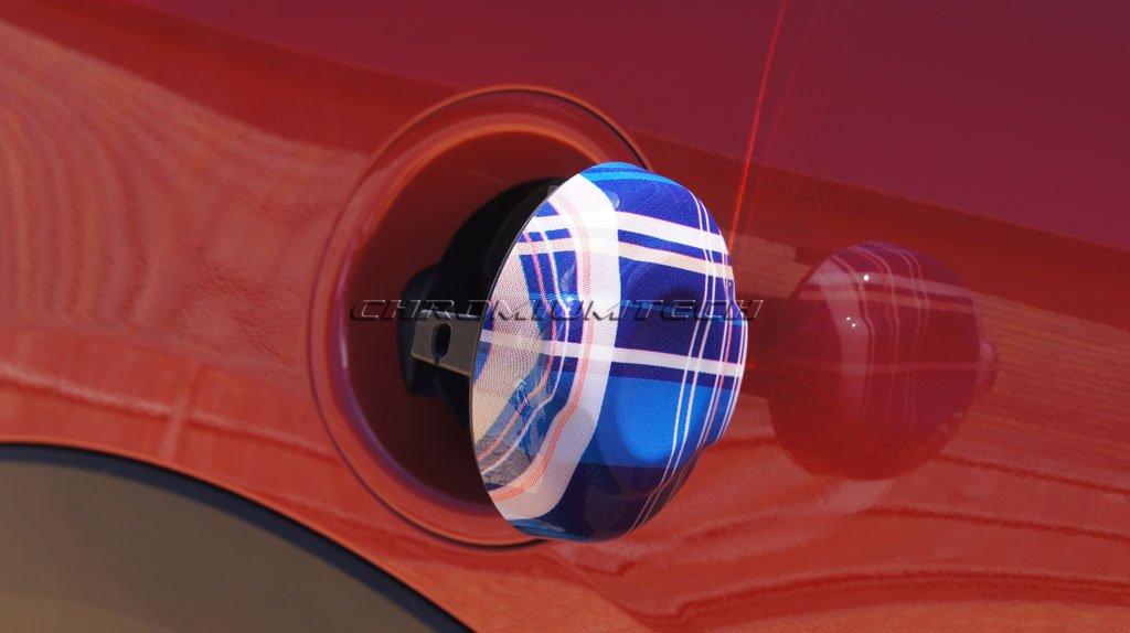 Chromiumtech TC-MK3-SW Fuel Tank Cap Cover