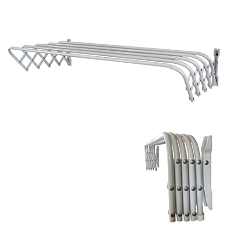 Beautiful Abba Patio 32u0026quot; Towel Bar Bathroom Retractable Wall Mount Towel Rack  Powder Coated Steel,