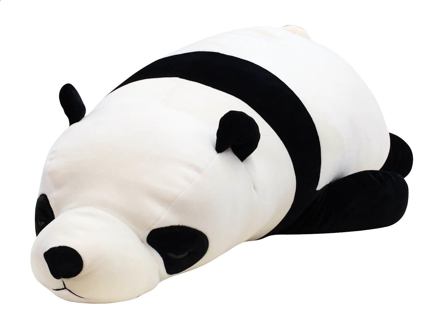 LivHeart Premium Nemu Nemu Super Soft Body Pillow Hug Pillow BIG Panda (L)