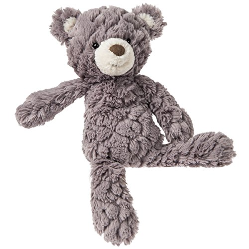 - Mary Meyer Putty Bear Small Teddy Bear Soft Toy, Grey