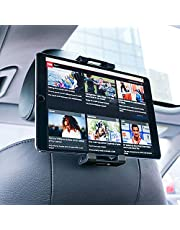 "Support Tablette Voiture, Lamicall Support Tablette pour Appui-tête : Universel Support pour 4.7""~13"" Tablette, Pad 2018 Pro 9.7, 10.5, Air Mini 2 3 4, Phone, Samsung Tab, d'autres Tablettes - Noir"